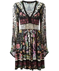 Roberto Cavalli   Print Flared Dress Size 44