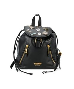 Moschino | Badge Appliqué Backpack One