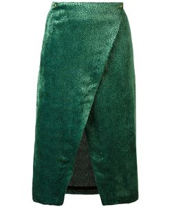 Roseanna | Devoré Wrap Skirt 36 Silk/Viscose