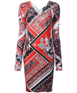 Just Cavalli | Paisley Patterned Dress 40 Viscose/Spandex/Elastane