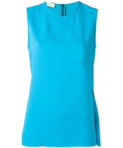 Cedric Charlier | Cédric Charlier Front Panel Sleeveless Top 46 Polyester