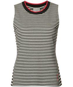 Grey Jason Wu | Striped Sleeveless Top Size Xs