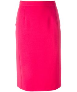 Agnona | Classic Pencil Skirt Small Wool/Spandex/Elastane/Viscose/Cotton