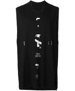 JULIUS | Printed Motif Tank Top 2 Cotton/Modal