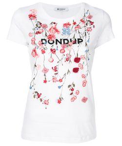 Dondup | Футболка С Цветочной Вышивкой