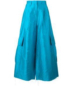 Marques Almeida | Marquesalmeida Super Fla Trousers 10 Silk