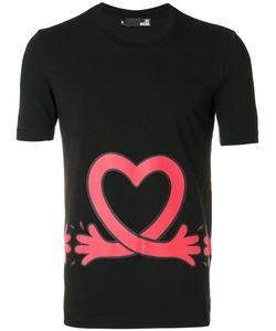 Love Moschino | Футболка С Принтом Сердца