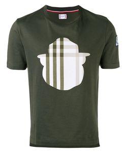 Moncler Gamme Bleu | Check Motif T-Shirt Small Cotton/Acrylic