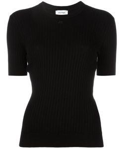Courreges | Courrèges Plain T-Shirt 3 Cotton/Cashmere