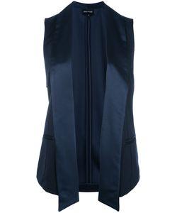Emporio Armani | Sleeveless Blazer-Inspi Jacket 42 Viscose/Polyester