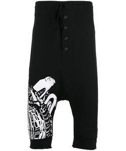 Barbara I Gongini | Abstract Print Drop-Crotch Shorts 50