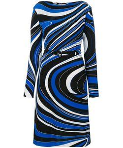 Emilio Pucci | Платье С Тонким Поясом На Талии