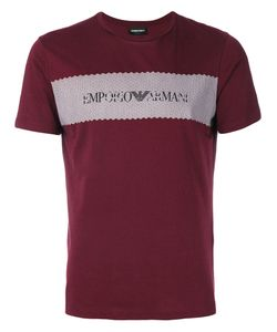 Emporio Armani | Футболка С Принтом Логотипа