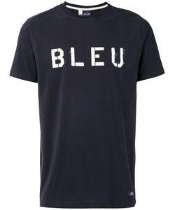 Bleu De Paname | Bleu Print T-Shirt Size Large