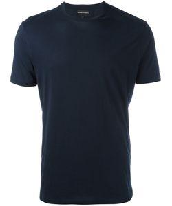 Emporio Armani   Plain T-Shirt Small Cotton