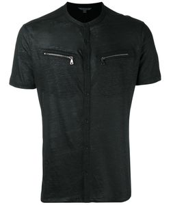 John Varvatos | Zip Pocket T-Shirt Medium
