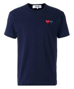 Comme des Gar ons Play | Comme Des Garçons Play Embroidered Logo T-Shirt Size Medium
