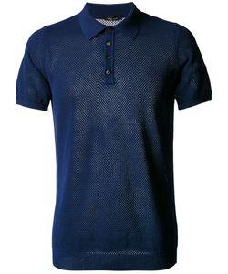 Roberto Collina   Net Polo Shirt Size 48