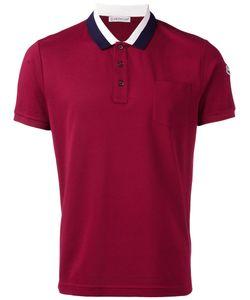 Moncler | Striped Collar Polo Shirt Size Xxl