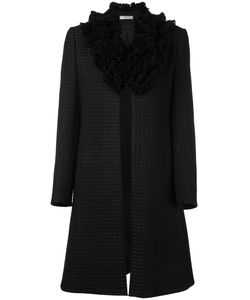 Lanvin | Пальто С Ворсистым Воротником