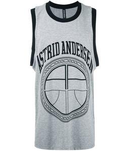 Astrid Andersen | Basket Logo Tank Large Cotton/Spandex/Elastane