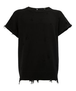 THE SOLOIST | Distressed Short Sleeve T-Shirt Size 46
