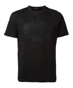 Versace   Medusa Embroidered T-Shirt Size Medium