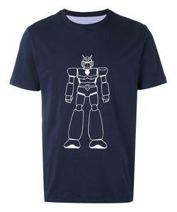 Lc23   Robot Print T-Shirt L