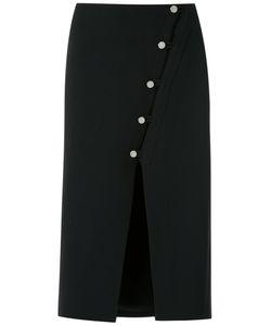 EGREY | Front Slit Midi Skirt Size 42