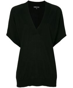 Snobby Sheep | Fitted V-Neck Knitted Top Women