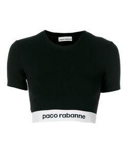 Paco Rabanne | Укороченная Футболка С Логотипом