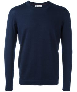Brunello Cucinelli | Safety Pin T-Shirt 50 Virgin Wool/Cashmere