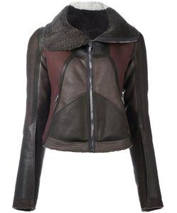 Rick Owens | Куртка С Панельным Дизайном