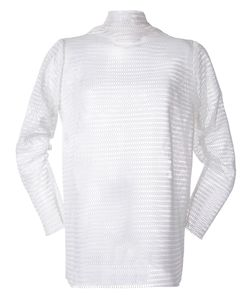 N Duo | Mesh Turtleneck Jersey