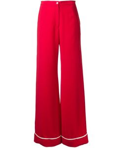 N Duo | Trim Detail Straight Leg Trousers