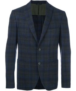 Tonello | Plaid Single Breasted Blazer