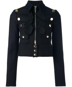 Givenchy | Укороченный Жакет В Военном Стиле