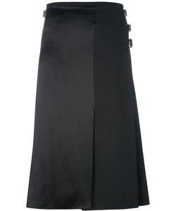 LE KILT | Silk Panel Pleated Skirt