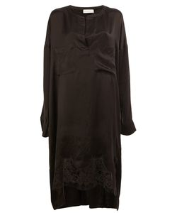Faith Connexion | Lace Hem Long Fit Blouse