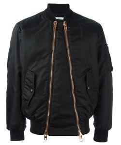 Givenchy | Куртка-Бомбер С Двойной Застежкой-Молнией