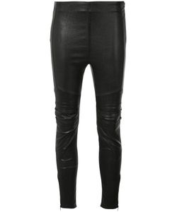 Saint Laurent | Skinny Trousers 36 Cotton/Spandex/Elastane/Lamb Skin