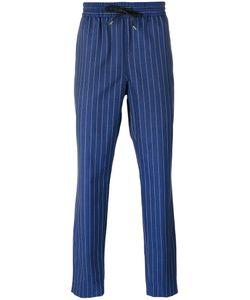 BERNARDO GIUSTI | Striped Track Pants Size 50