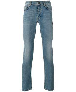 Roberto Cavalli   Beaded Trim Slim Fit Jeans 31