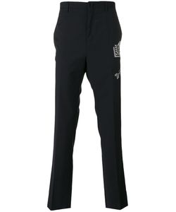 Lanvin | Arrow Stitch Trousers Size 46
