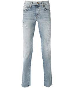 J Brand | Bleach Distress Effect Jeans