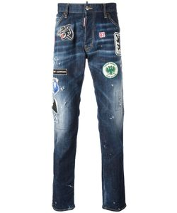 Dsquared2 | Cool Guy Patch Jeans 46 Cotton/Spandex/Elastane