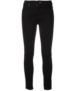 Mcq Alexander Mcqueen | Side Zip Trousers 26 Cotton/Spandex/Elastane