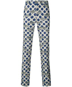COMME DES GARCONS HOMME PLUS | Comme Des Garçons Homme Plus Polka Dot Fish Print Trousers