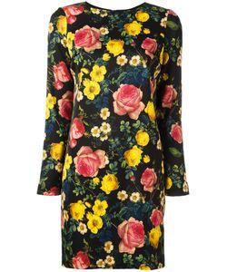 Fausto Puglisi   Print Mini Dress 40 Viscose/Acetate/Spandex/Elastane/Spandex/Elastane