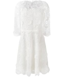 Ermanno Scervino | Embroidered Dress 40